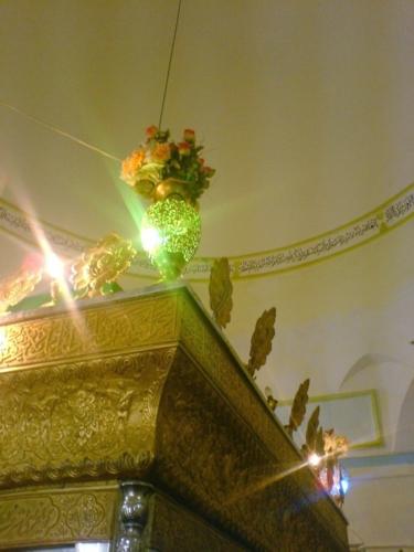 کنگاور شهر تمدن و تدین - ضریح امامزاده ابراهیم(س)