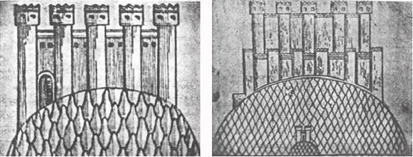 کنگاور شهر تمدن و تدین - نقاشی قدیم معبد آناهیتا - کنگاور از دیدگاه سیاحان و پژوهشگران قرون نوزدهم و بیستم میلادی - Kangavar Anahita temple